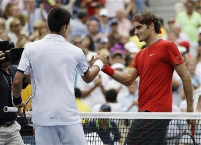Djokovic defeat Federer