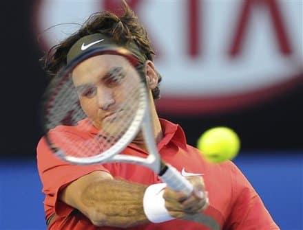 Federer 1st Round Australian Open 2012
