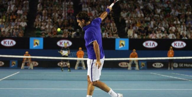 Federer-Backhand