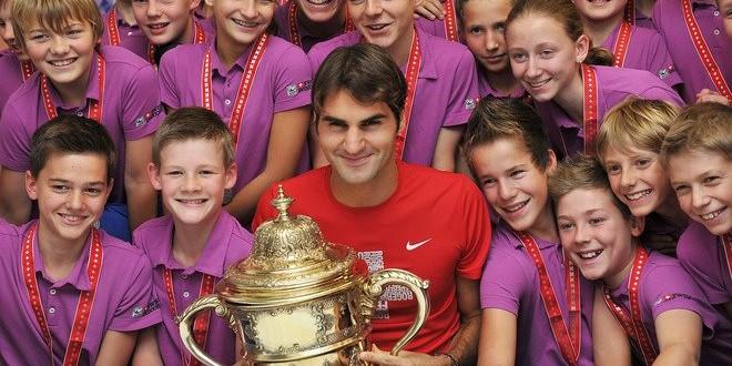 Federer & Basel Ball Boys