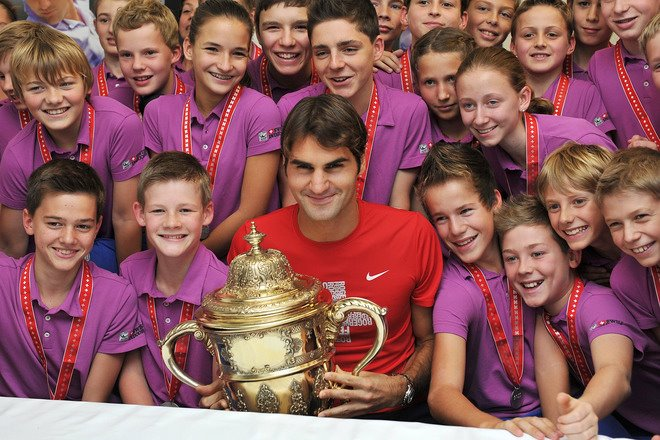 Federer & Basel Ball Boys