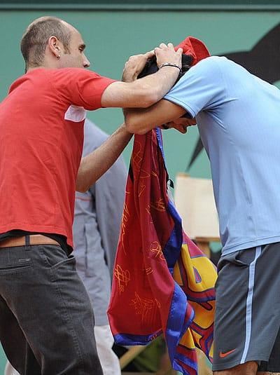Federer Being Soft