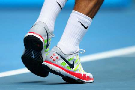 Federer Fancy Footwork