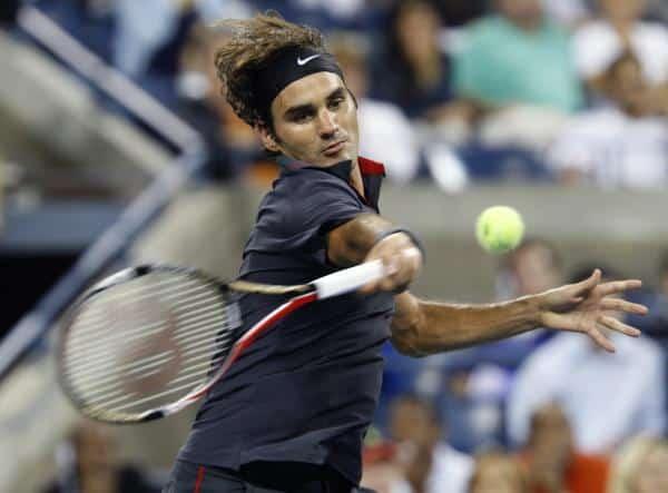 Federer Forehand