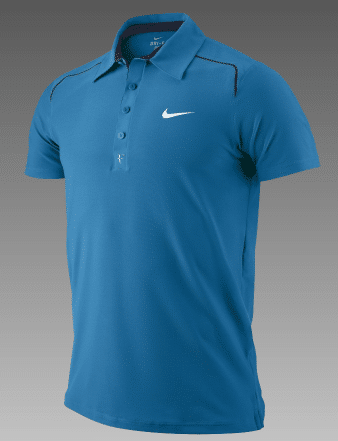 Federer Imperial Blue Polo Winter 2011