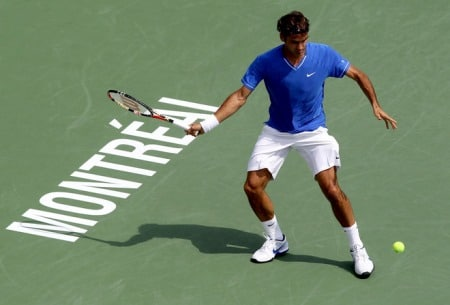 Federer Rogers Cup Montreal Round 2