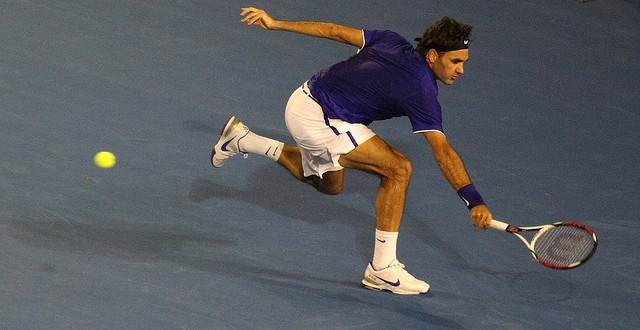 Federer Top 5 Matches Australian Open