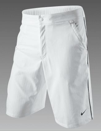 Federer White Shorts 2011