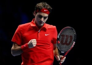 Federer World Tour Finals 2010