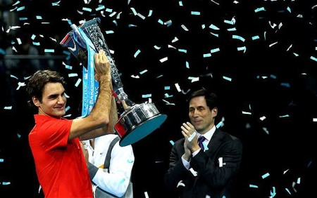 Federer World Tour Finals Victory 2010