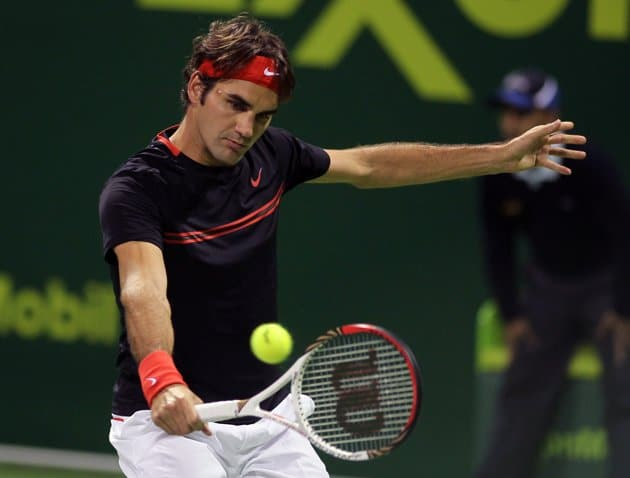 Federer beats Seppi in Doha