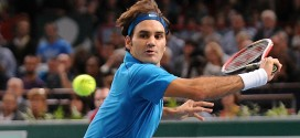 Federer def. Monaco in Paris Masters Quarter Finals