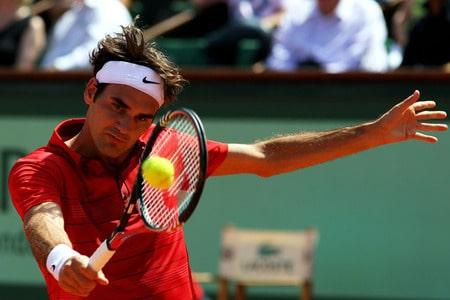 Federer def. Monfils