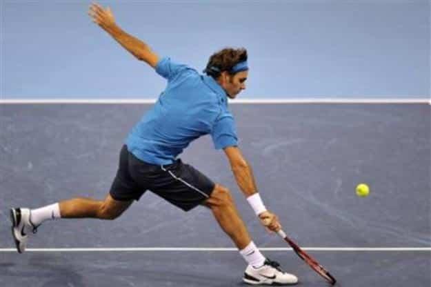 Federer def. Nieminen Basel 2011