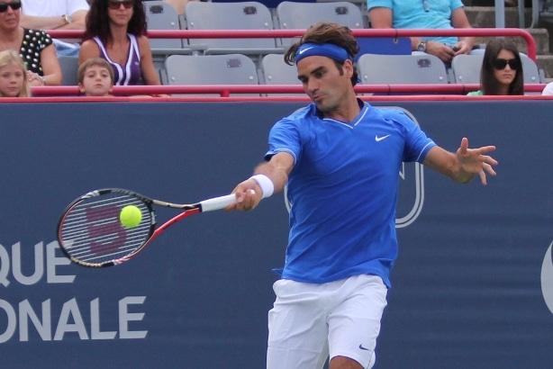 Federer def. Pospisil 7-5 6-3