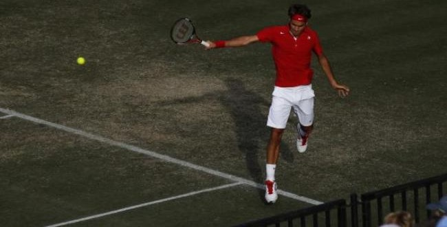 Federer defeat Hewitt Davis Cup 2011, Sydney