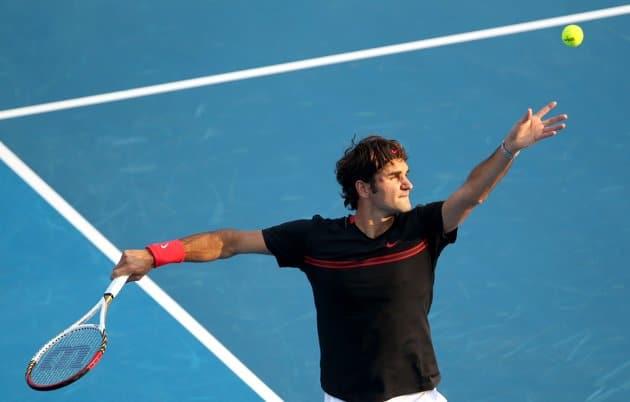 Photo of Djokovic downs Federer in Abu Dhabi Exhibition