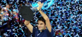 Federer wins 6th Masters Cup Title