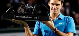 Federer wins the BNP Paribas Masters