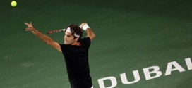 Federer defeats Lopez in Dubai