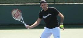 Federer defeats Bellucci Indian Wells