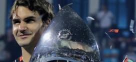 Federer wins 5th Dubai Title
