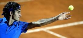 Federer defeats Ferrero