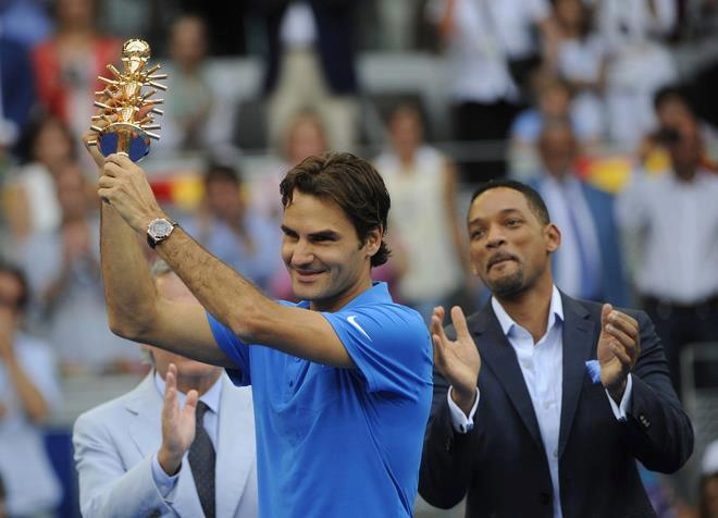 Photo of Federer beats Berdych to Win in Madrid