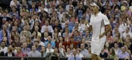 Federer def. Benneteau at Wimbledon