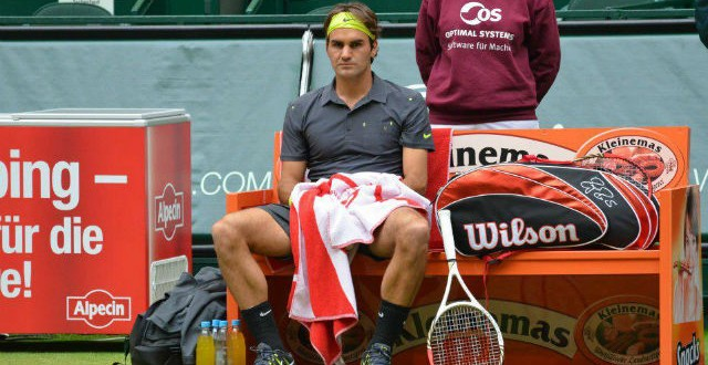 Haas def. Federer in Halle