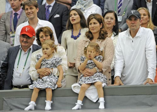 Robert, Lynette, Mirka, Paul and the Twins