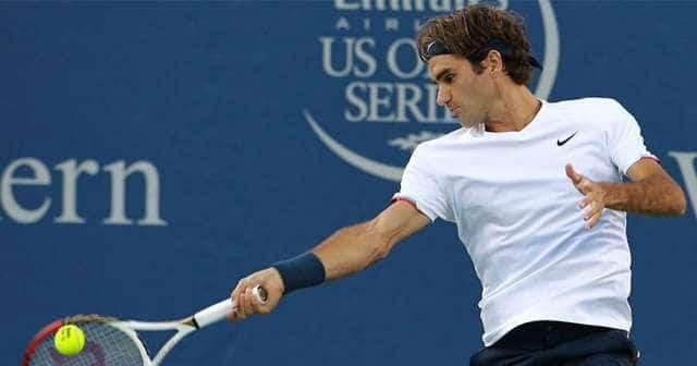 Federer flies past fish in cincinnati perfect tennis for Fishing in cincinnati