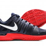 Federer US Open Nike Vapor 9 Tour Obsidian Red