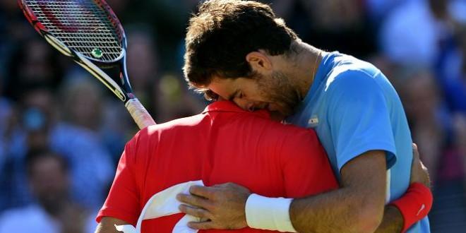 Federer defeats Del Potro at Olympics