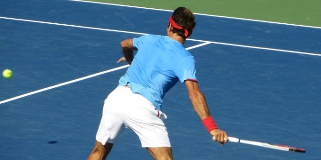 Federer def. Verdasco US Open 2012