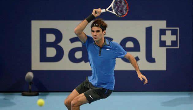Del Potro defeats Federer in Basel