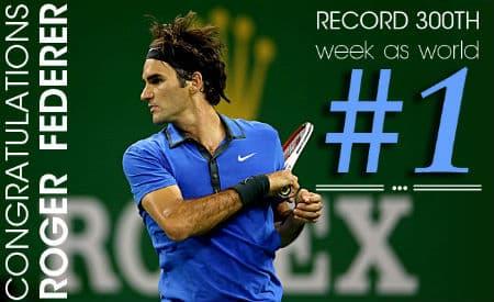 Federer Retains Number 1