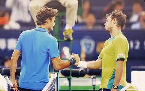 Federer & Wawrinka