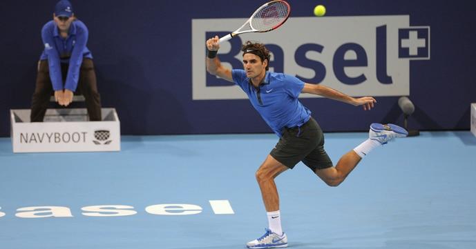 Federer def. Bellucci in Basel