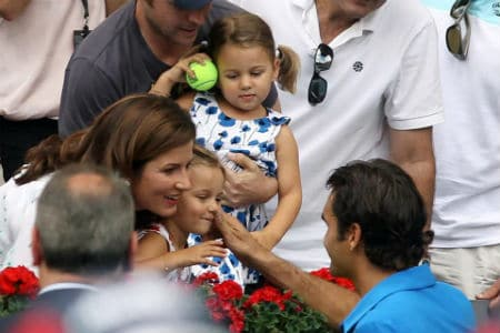 Roger, Mirka and The Twins