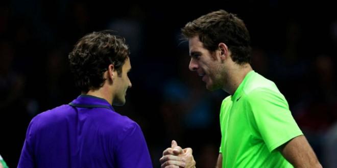 Del Potro def Federer in London