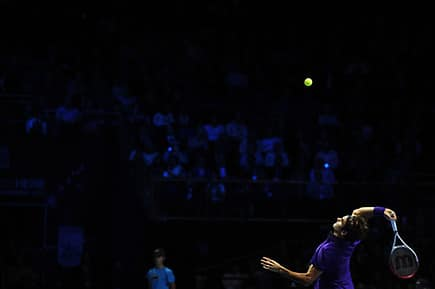 Federer Variety of Serve Keeping him out of Trouble