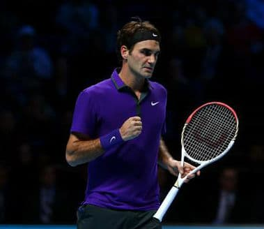 Federer Wins the First 9 Points