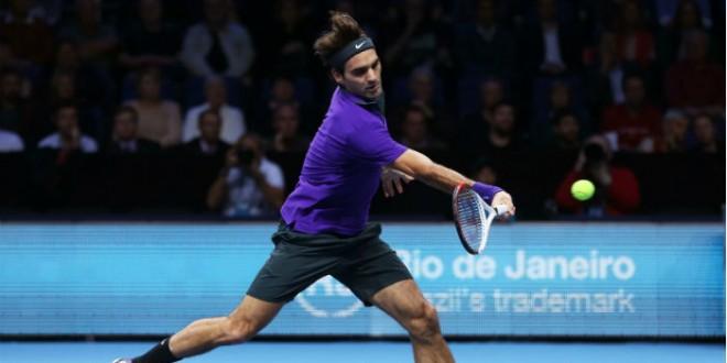 Federer def. Ferrer