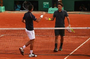Djokovic def. Federer French Open Semi Final