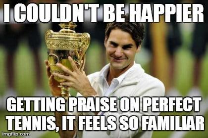 Federer Winner