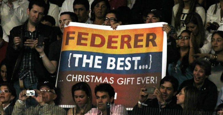 Merry Christmas to all Federer Fans