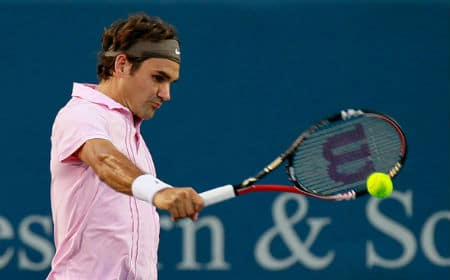 Federer Backhand Grip