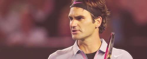 Federer - Broken Back