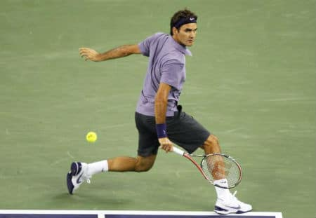 Federer Footwork